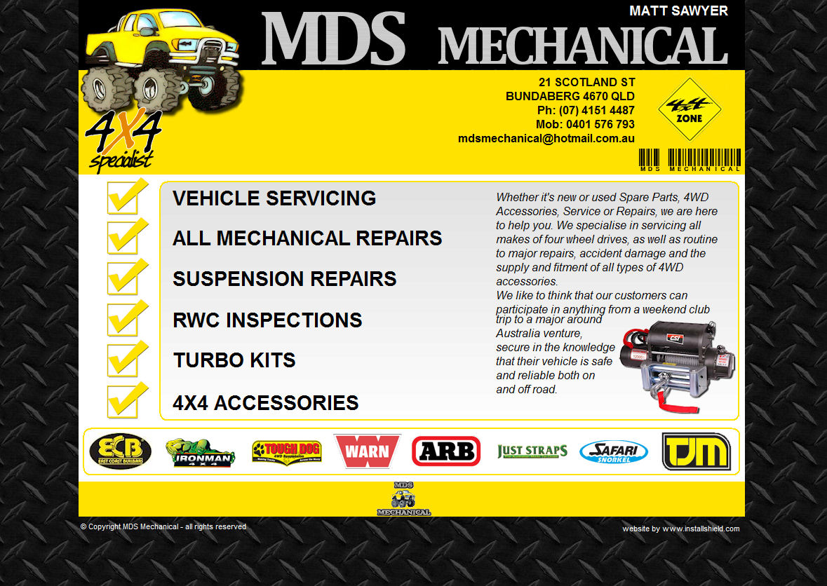 MDS Mechanicalconcept1