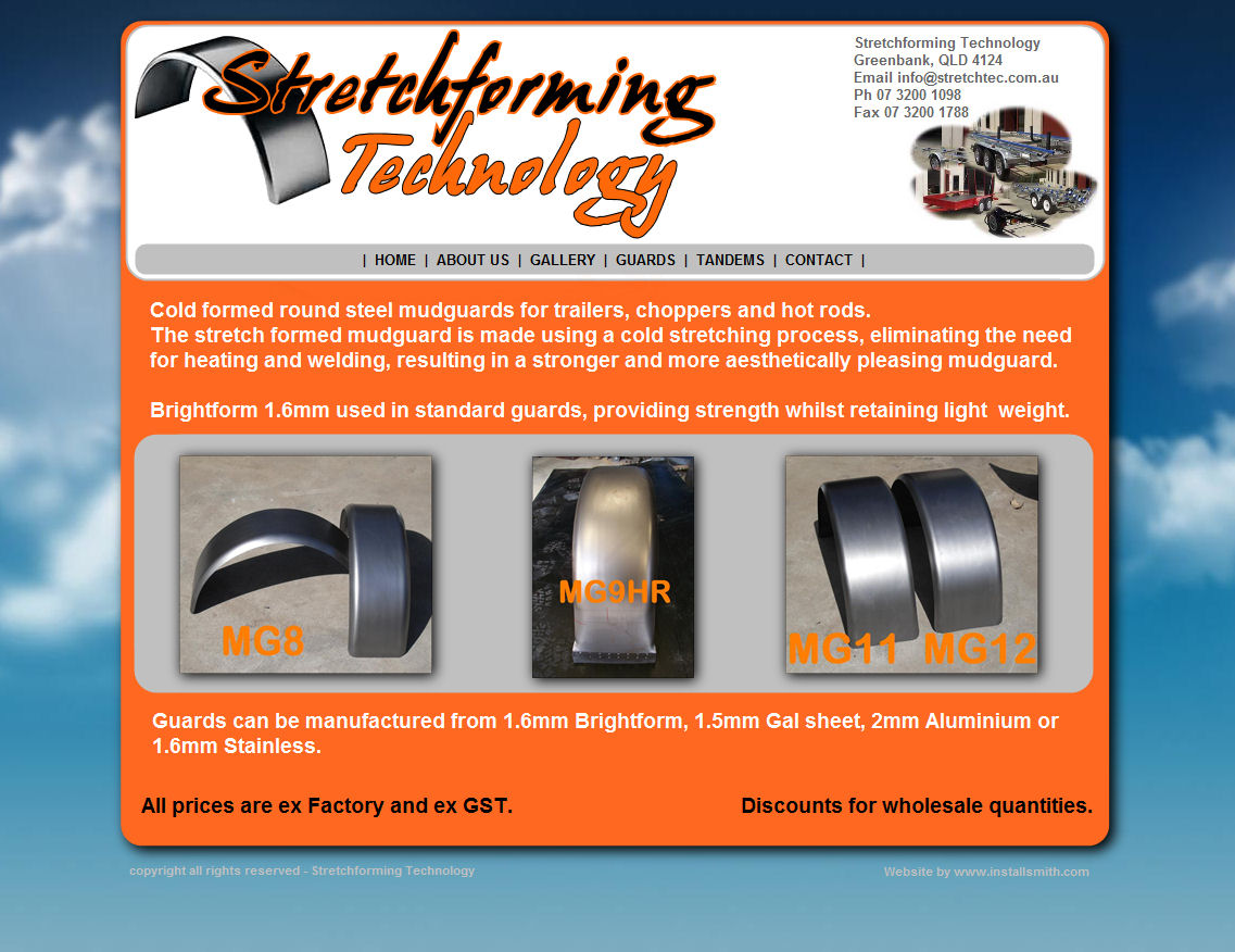 Stretchforming Technology Concept1